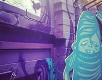 Chilli Cake Deli Mural