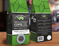 Turtle Mountain Coffee Packaging