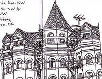 Sketchbook: Washington, DC Buildings 1