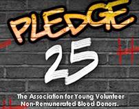 Pledge 25 - Blood donation initiative