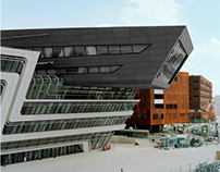 Vienna University by Zaha Hadid Architects | AT