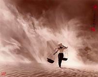 Le fotografie di Don Hong-Oai come antichi dipinti cine