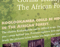 African Forest Koolookamba Signage
