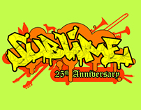 Sublime 25th Anniversary Logo