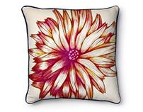 Textile Design. Cushions Design