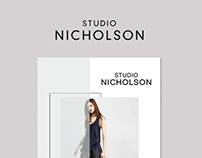 Studio Nicholson Lookbook