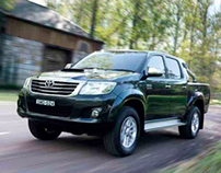 Toyota HiLux sales brochure