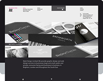 Website Design for Mark Design