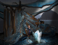 The Tempest- Set, Lighting, and Projection Design