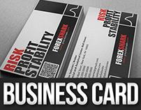 Forex Shark Business Card