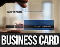Transparent Plus Business Card