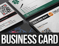 Medical Business Card Bundle 4 in 1