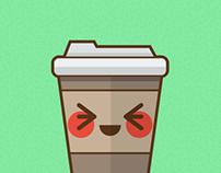 Coffee Cup Kawaii