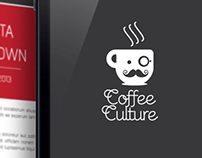 COFFEE CULTURE: Rebrand & App