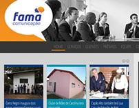 Site FAMA Comunicação