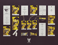 "Photo Wedding Stationery ""Image with Bogart"" / Yellow"