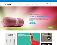 Electric Demo for WOOW Responsive Theme