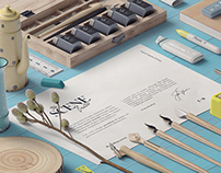 Free* Paper calligraphy Scene Creator