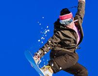 Mavrovo snowboard activity