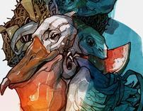 Love great to innocent pelican