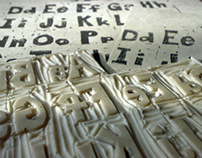 Handmade linotype