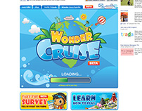 Social Game UI & External Promotions - Wonder Cruise