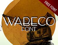 WABECO FONT - FREE FONT