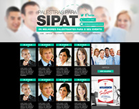 Sipat | Lista de Palestrantes