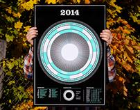 Infographic Calendar 2014