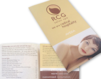 RCG Salon and Spa | menu/brochure