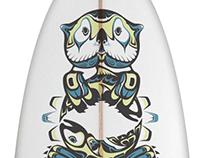 SUP board art & illustration