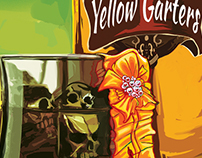 Death Wears Yellow Garters Book Cover
