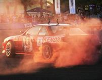 RedBull Parking Drift Event