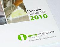 Informe de Gestión 2010 - Iberoamericana de Seguros