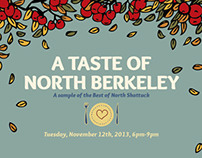 A Taste of North Berkeley - Graphic Design