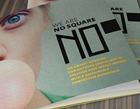 No Square Design Flyer
