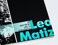 "Catálogo Expo ""El Sentido de lo Moderno"" - Leo Matiz"