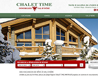 Chalet Time Val d'Isère - Holiday Rental Website