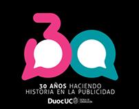 Animación 3D Duoc 30 años