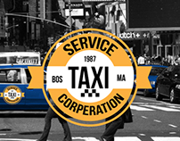Service Taxi Corperation Branding