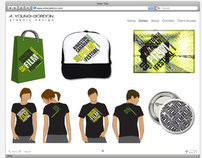 Ashley Graphic Designs Website