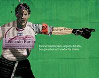 Campaña Gráfica para El Observador / Fútbol por 100