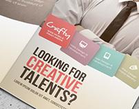 Creative Design Agency Trifold Brochure