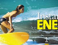 Oxygen Magazine - Editoral Design