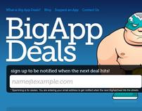 BigAppDeals - Homepage Design