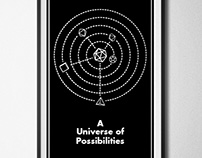 A Universe of Possibilities Poster