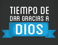 Tiempo de dar gracias a Dios