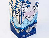 Packaging Leche Surlat