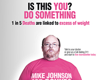 Is this YOU? Do Something | New York Obesity Campaign