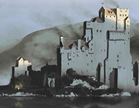 Castle at Dawn